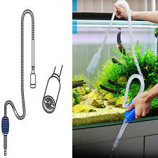 Quick Release Aquarium Vacuum Siphon Pump Products Hot Sale Aquarium Fish Tank Cleaner