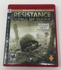 Resistance: Fall of Man (Sony PlayStation 3, 2006) Complete PS3 Tested