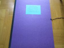 Günther Silencieux 11 feuilles pour paradisiaques calendrier. orig. lithographies