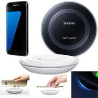 Qi Rápido Cargador Inalámbrico Carga Rápida Base For Samsung Galaxy S7 / S7 Edge