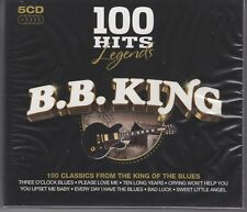 "B.B. King ""100 Hits"" NEW 5CD SET 1st Class Post From The UK Within 48 Hours"