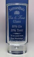 Gin Glasses/Steins/Mug Collectable Tumblers