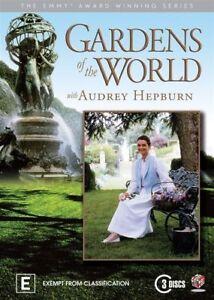 Gardens Of The World With Audrey Hepburn (DVD, 2011, 3-Disc Set) R4