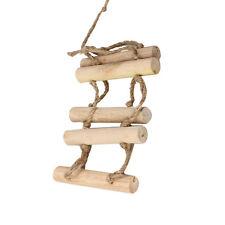 Small Parrot Rat Toy Bridge Ladder Hamster Bird Cage Accessories   E0Xc