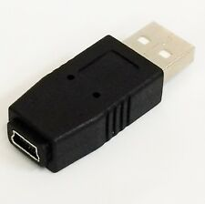 USB A Male to Mini USB B 5 Pin Female Adapter Converter F/M