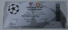 Ticket for collectors CL Athletic Bilbao Galatasaray Istanbul 1998 Spain Turkey