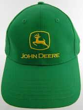 NEW: John Deere Green Logo Baseball Cap, Hat, Excellent Condition - Nice
