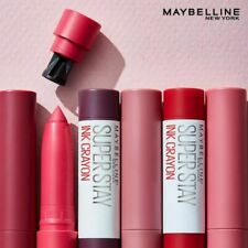 Maybelline Super Stay INK Lip Crayon Pick Your Shade Brand New Sealed