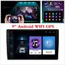 "Quad Core Android 7.1 WIFI 9"" 2 DIN Car Radio MP5 MP3 GPS Player Mirror Link OBD"