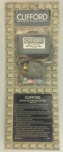 Vintage NOS CLIFFORD Electronics Remote Trunk Release Controller, 60-219, USA