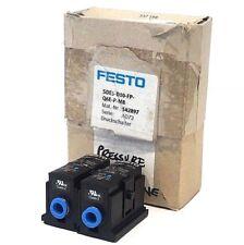 2 NEW FESTO SDE5-D10-FP-Q6E-P-M8 PRESSURE SENSORS 542897 SDE5D10FPQ6EPM8