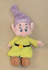 "Walt Disney World Dopey Snow white Seven Dwarfs Plush Stuffed Animal 10"""