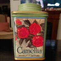 "Oneida Camellia Floral Canister - 7"" Ceramic - Vintage Label Collection"