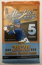 Thick! Jersey/Relic/Bat/Patch Hot Pack 2020 Panini ABSOLUTE Baseball