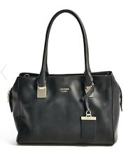 NWT GUESS Camylle large Satchel Handbag Purse Black