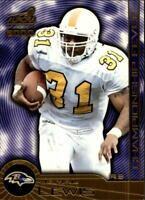 2000 Aurora Football Cards Inserts Parallels - U Pick - Buy 10+ cards FREE SHIP