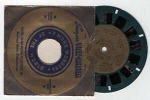Marine Studios St. Augustine Florida 1938 Gold Foil Center View-Master Reel 166