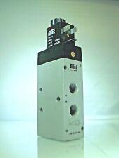 AIRTEC, KM-10-511-HN, 1/4 Bsp , 24v Dc Solenoid Feder 5/2 Ventil German Quality