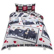 1D One Direction 1 D Photo Stills Reversible Duvet Cover Set Single & Pillowcase