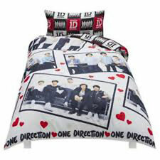 1D One Direction 1 D Photo Stills Reversible Duvet Cover Single & Pillowcase Ser