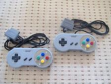2 Controller Gamepad Joypad für Super Nintendo SNES NEU