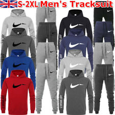 New listing Mens Hoodie Trousers Tracksuit Set Top Jogging Bottom Pullover Track Sweatshirts