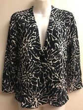 Jones New York Jacket Sweater Button Front SIze PM