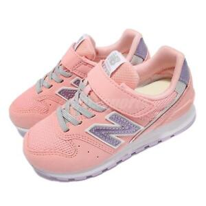 New Balance 996 W Wide Pink Purple Strap Kids Preschool Casual Shoes YV996UPN W