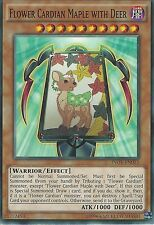 YU-GI-OH CARD: FLOWER CARDIAN MAPLE WITH DEER - INOV-EN013