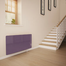 Lilac Glass Radiator Cover for The Hall - Extra Large