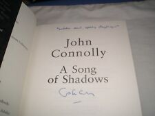 JOHN CONNOLLY - A Song Of Shadows SIGNED + LINED 1/1 Hb - 2015 - CHARLIE PARKER