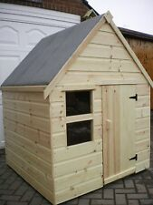 Childrens Wooden Play House/Wendy House 4' x 3ft - CAN DELIVER
