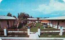 Fort Lauderdale Florida~Rancho Del Mar Hotel~1950s Postcard