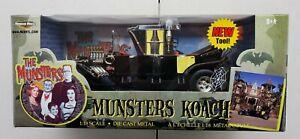 ERTL TV Series Munsters Koach Coach 1:18 Scale Die Cast Vehicle Hearst NIB