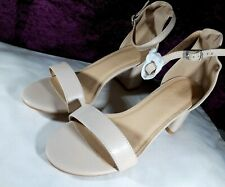 SIMPLY BE CAMMY BLOCK HEELS SHOES WIDE FIT SIZE 6 E BNWT BLACK