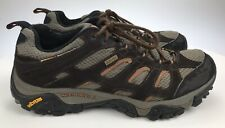 Mens 9.5 MERRELL Moab Gore-Tex XCR Expresso Brown Waterproof Hiking Shoes J86905