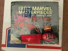 1993 Marvel Masterpieces Factory Sealed Unopened Box 36 Packs L@@@@@@@@@@@@@@@@K