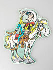 (PRL) 1980 LUCKY LUKE VINTAGE RARE COLLECTION STICKER ADESIVO RARO AUFKLEBER