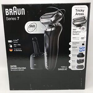 Braun Series 7 7089cc Electric Razor Trimmers SmartCare Kit Wet Dry Lithium Ion!