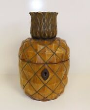 Antique Pineapple Tea Caddy.