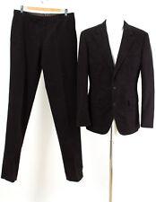 HUGO BOSS Anzug WIE NEU! Gr. 98 (M Schlank) Baumwolle Sakko Hose Business Suit