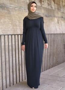 Baby Doll Modal Jersey Dress   Black