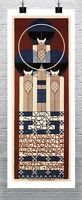 Secession 1902 Vintage Exhibition Poster Rolled Canvas Giclee Print 17x40 in.