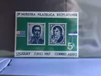 Uruguay 1967 Stamp Show   mint never hinged stamps sheet R26986