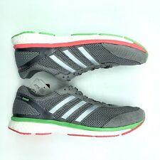 Adidas Adizero Adios Boost 2 Running Shoes Men's Size 9 Gray B26586 New w/ Tags!