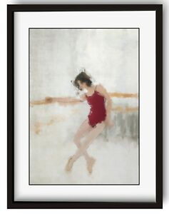 Abstract Ballerina Poster Wall Picture Home Decor