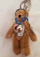 Authentic Prada teddy bear ulisse key ring very Rare