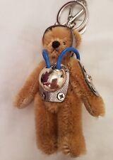 Authentique PRADA Teddy Bear Ulisse Porte-clés très rare