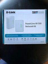 D-Link Powerline AV 500 / Model DHP-500AV AV500 PowerLine Ethernet Extender
