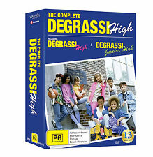 BRAND NEW The Complete Degrassi High (DVD, 13-Disc Set) R4 Junior